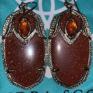 Kendra Scott Darby SUPER rare HTF earrings